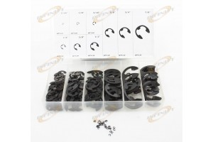 300pc E Clip Eclip Retaining Ring Assortment Radial External Shop Garage